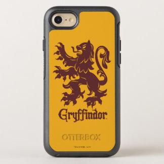 Löwe-Grafik Harry Potters   Gryffindor OtterBox Symmetry iPhone 8/7 Hülle