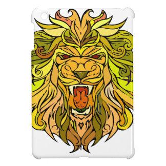 Löwe-Grafikdesign iPad Mini Hülle