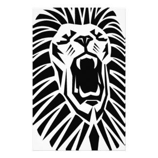 Löwe Hauptvecto Briefpapier