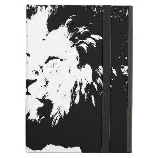 Löwe in Schwarzweiss