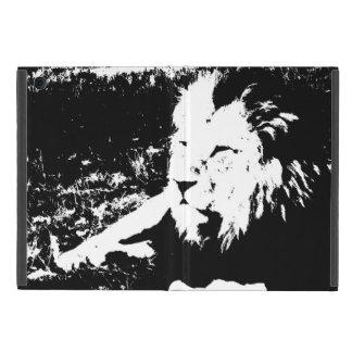 Löwe in Schwarzweiss Schutzhülle Fürs iPad Mini