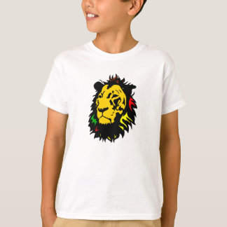 LÖWE-JAMAIKANISCHER BLICK T-Shirt