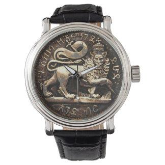 Löwe Judah Uhr-des alten Löwe-Goldentwurfs Uhr