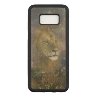 Löwe-König der Dschungel-Tiere Carved Samsung Galaxy S8 Hülle