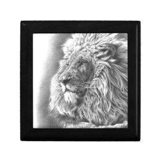 Löwe-König Geschenkbox