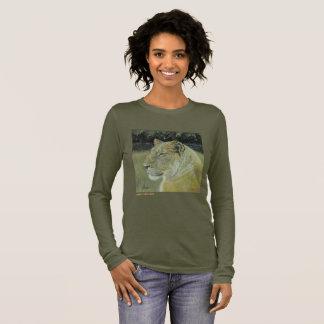 Löwe-König und der T - Shirt Königin-der langen