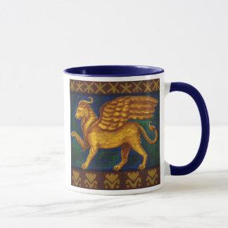 Löwe-köpfige Gryphon Tasse