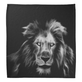 Löwe Kopftuch