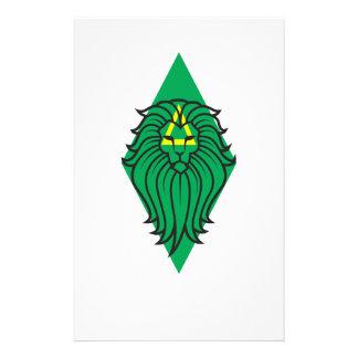 Löwe-Kunst Briefpapier