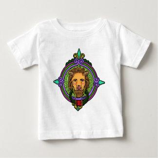 Löwe-Kunstexklusives Baby T-shirt