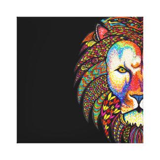 Löwe Leinwanddruck