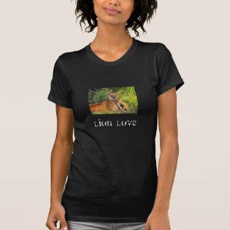 Löwe-Liebe T-Shirt