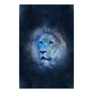 Löwe-Löwe Briefpapier