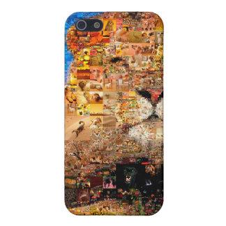 Löwe - Löwecollage - Löwemosaik - Löwe wild Etui Fürs iPhone 5