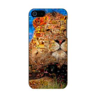 Löwe - Löwecollage - Löwemosaik - Löwe wild Incipio Feather® Shine iPhone 5 Hülle