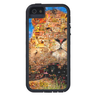 Löwe - Löwecollage - Löwemosaik - Löwe wild iPhone 5 Etuis
