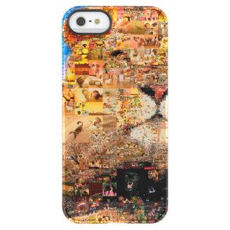 Löwe - Löwecollage - Löwemosaik - Löwe wild Permafrost® iPhone SE/5/5s Hülle