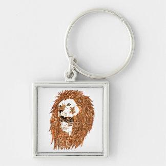 Löwe-Maske Schlüsselanhänger