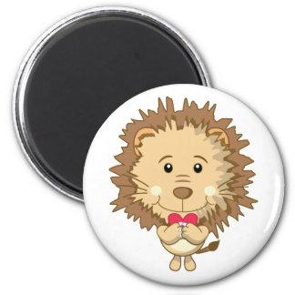 Löwe mit Herz Magneten Runder Magnet 5,7 Cm