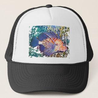 Löwe oder die Türkei-Fische Truckerkappe