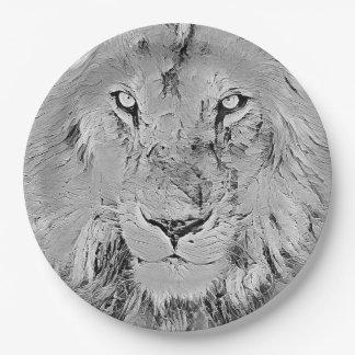 Löwe Pappteller