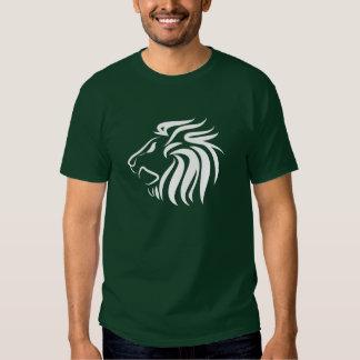 Löwe-Piktogramm-T - Shirt