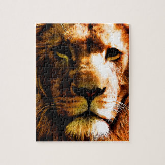 Löwe Puzzle