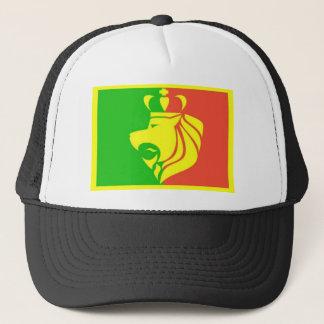 Löwe Rasta Reggae-Flagge Truckerkappe