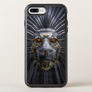 Löwe-Roboter OtterBox iPhone 7 Plusfall OtterBox Symmetry iPhone 8 Plus/7 Plus Hülle