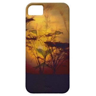 Löwe-Sonnenuntergang iPhone 5 Schutzhülle