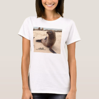 Löwe-T - Shirt der Frauen kalter See
