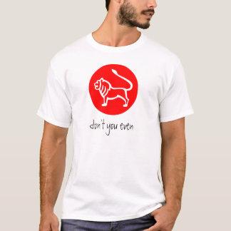 Löwe-Tierkreis-Zeichen T T-Shirt