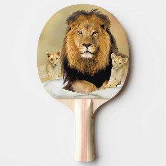 Löwe Tischtennis Schläger