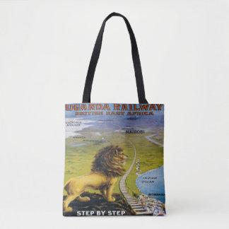Löwe-Uganda-Reise-Taschen-Tasche Afrika Tasche