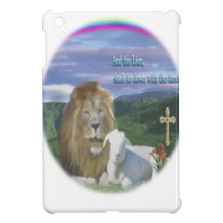 Löwe und das Lamm iPad Mini Hülle