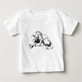 Löwe und die Schlange Baby T-shirt