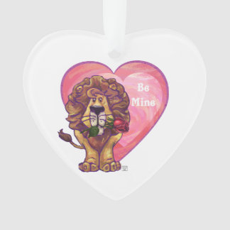 Löwe-Valentinstag Ornament