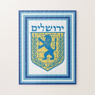 Löwe von Judah Emblem-Jerusalem-Hebräer Puzzle