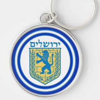Löwe von Judah Emblem-Jerusalem-Hebräer Schlüsselanhänger