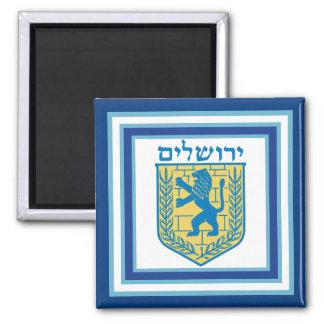Löwe von Judah Emblem Quadratischer Magnet