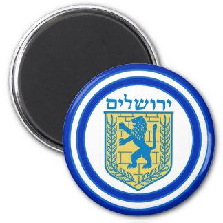 Löwe von Judah Emblem Runder Magnet 5,7 Cm