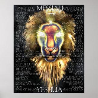 Löwe von Judah Poster