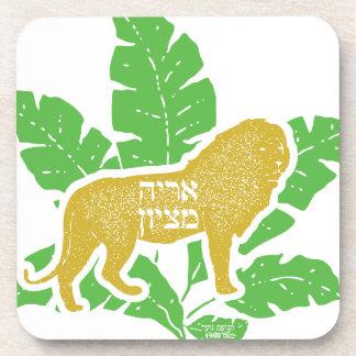 Löwe von Zion Untersetzer