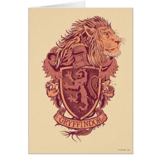 Löwe-Wappen Harry Potter | Gryffindor Karte