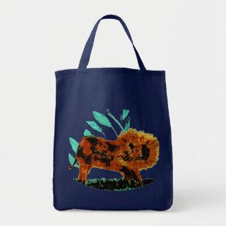 Löwe-wildes Tier-Kunst Tragetasche