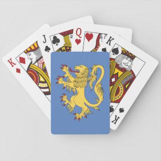 Löwe zügellos spielkarten