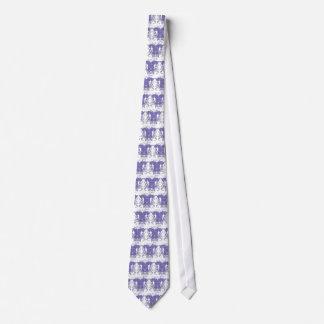Löwe-zügellose Renaissance-Hochzeit Bedruckte Krawatte