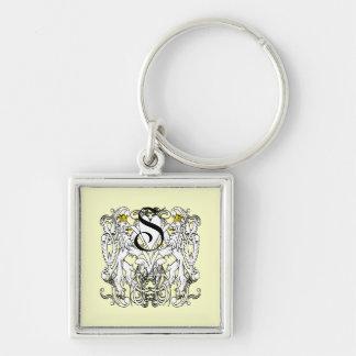 Löwe-zügellose Renaissance-Hochzeit Schlüsselanhänger