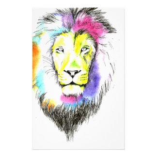 Löwekunst Briefpapier