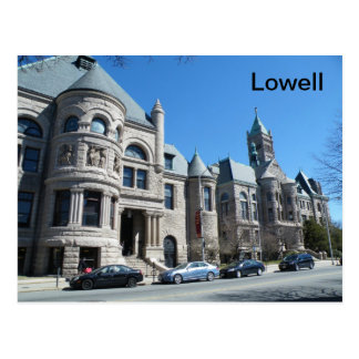 Lowell Postkarte